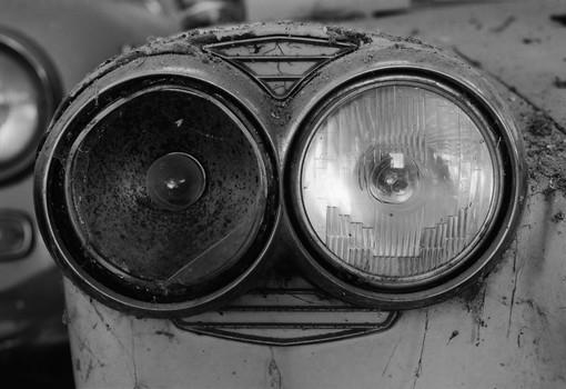 Headlamps. Umbria, Italy. 2006
