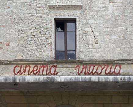 Cinema. Citta di Castello, Umbria, Italy. 2006