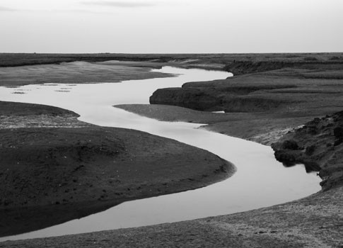 Tidal Channels. Norfolk, England. 2007