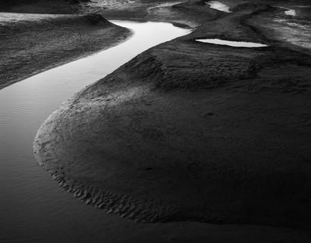 Tide Channels 2. North Norfolk, England. 2007