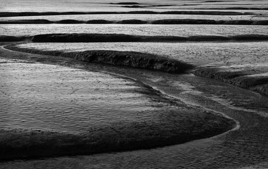 Tide Channels. Burnham, Norfolk, England. 2008
