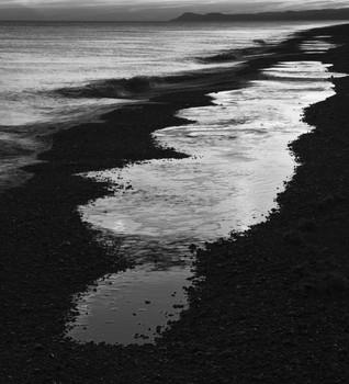 Dawn, Arnold's Marsh Beach. Norfolk 2008