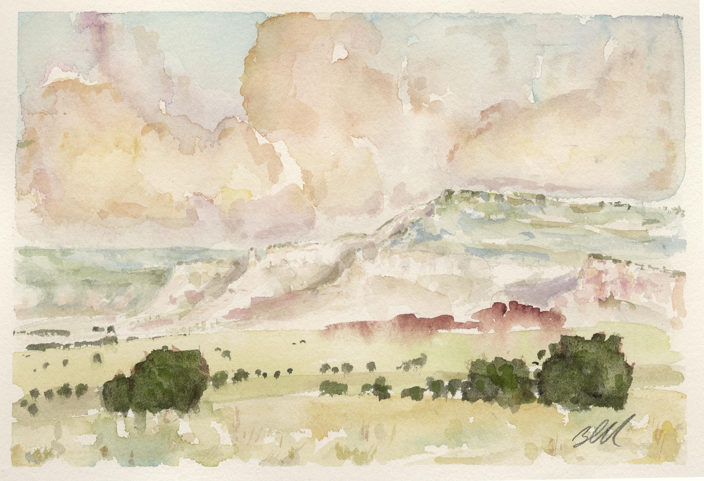 John M. Blanchard, Landscape Study # 1