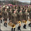 Female Army Band, Grand Monument on Mansu Hill, No