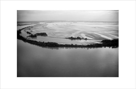 Bio-fuel wetlands of the Ohio river in Kentucky