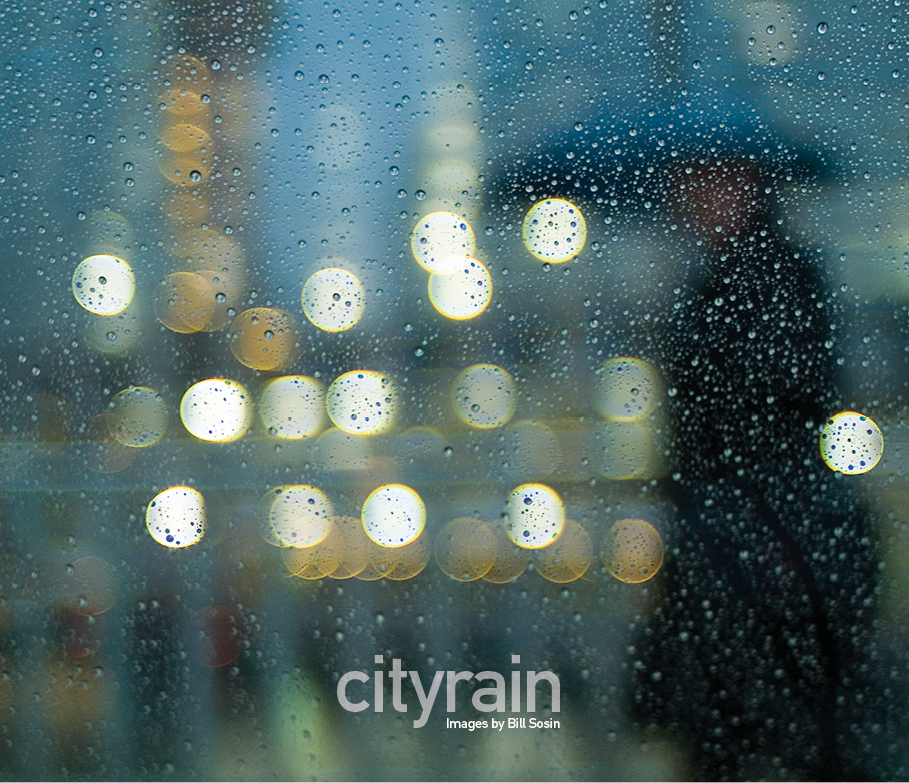 City Rain, Images by Bill Sosin