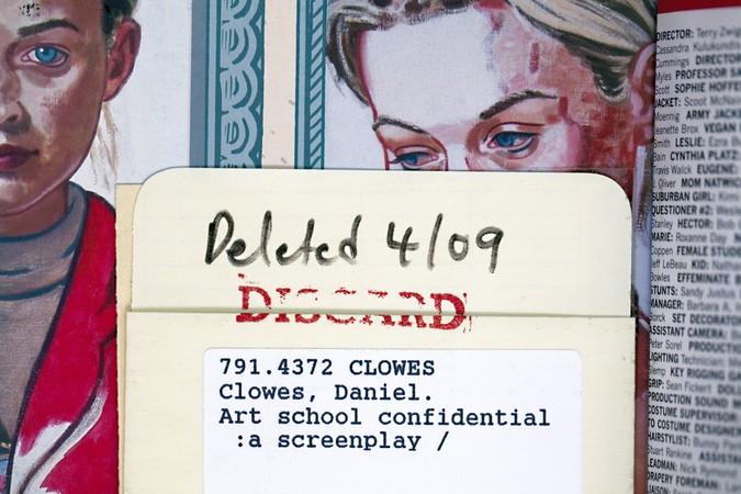 Daniel Clowes' Art School Confidential, 2011