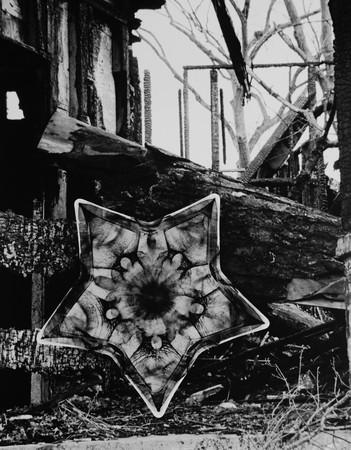 Candle Holder/Burned Home, 2015