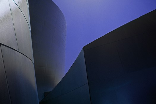 GEHRY, AT DISNEY MUSIC HALL, LOS ANGELES, CA