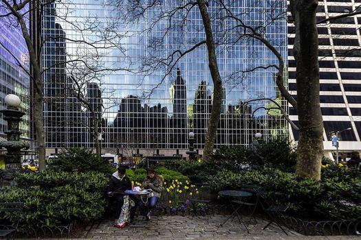 BRYANT PARK - REFLECTION