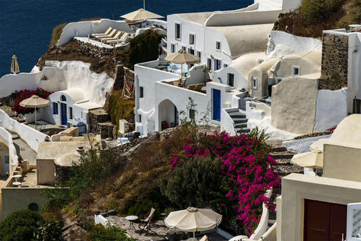GREECE - SANTORINI - OIA OVERVIEW 1