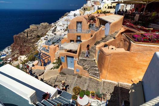 GREECE - SANTORINI - OIA OVERVIEW 2