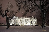 Front Angle of White House