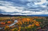 Fall on the Animas River