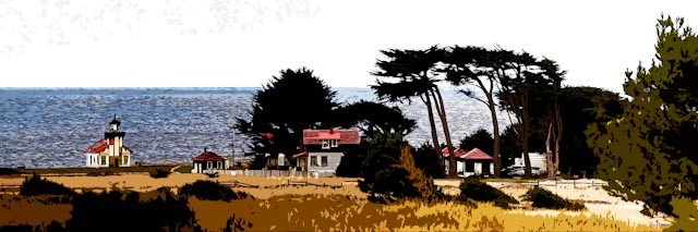 Panorama of the Light Station
