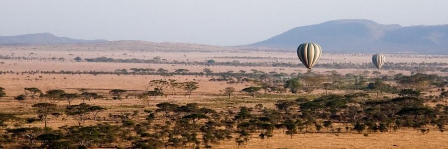 Balloons over the Serengeti