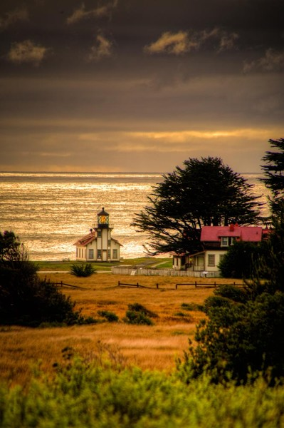 Clearing Storm, Point Cabrillo Light Station