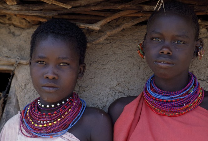 Turkana Girls