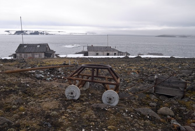 Wagon Wheels, Cape Tegethoff