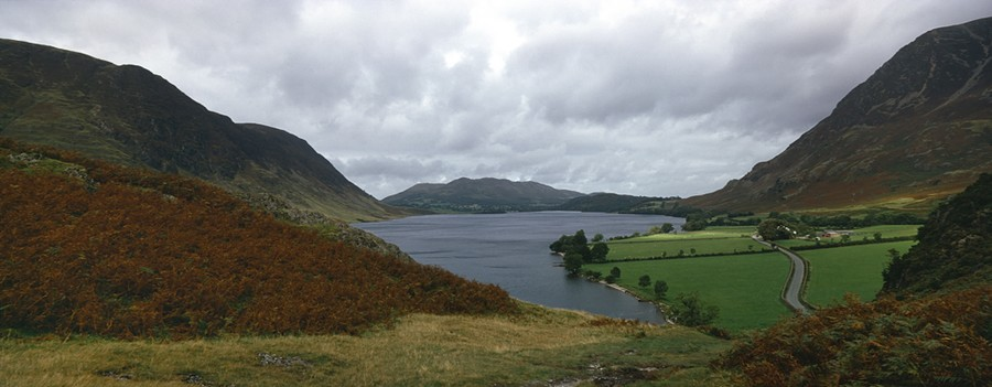 Crummock Water from Rannerdale Knott