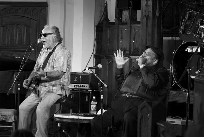 Bob Margolin and James Cotton