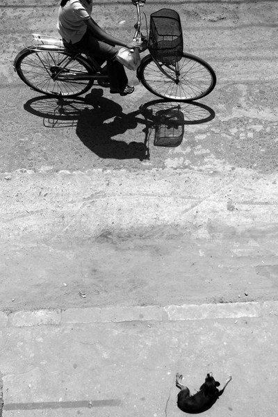 Bike Shadow, Hoi An