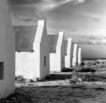 Slave Huts on Coast: Bonaire
