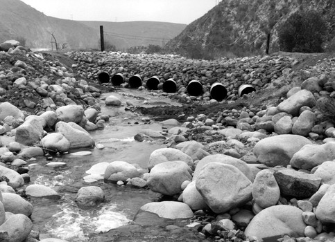 Santa Ana River, Seven Oaks Dam Site