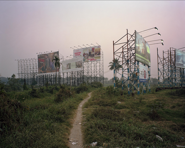 Alan Thomas, Rajarhat Towers and Cycle Rickshaw, 2013
