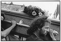 Political funeral for Jon Greenberg, NYC, 1993