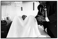 Dr. Jeffrey Wallach examing patient Al Bearden