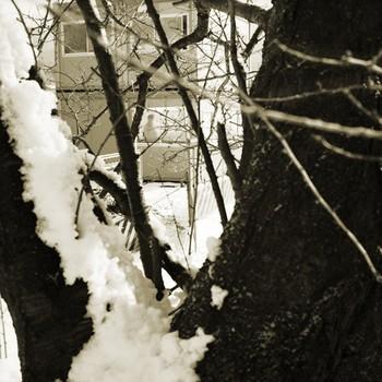 Mysterious Figure in Snow, Iwakura