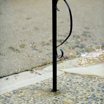 Smashed Candy Mailbox, Goleta, CA