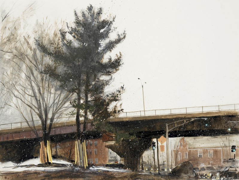 White Pine and the Casey Overpass