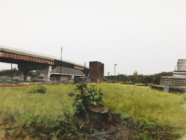 Casey overpass with Stumps