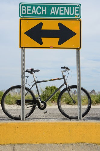 Cape May beach bike