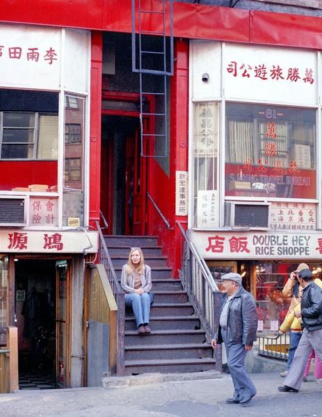 Linda in Chinatown 1