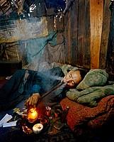 opium smoking
