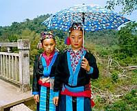 hmong bamboo sellers