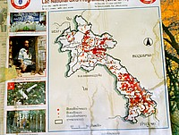 UXO concentrations map