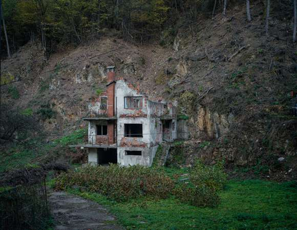 Bosniak House, Sebrenica, Bosnia, 2017