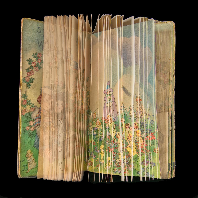 Ellen Cantor'dan uzun pozlama tekniği ile çocuk kitapları fotoğraf serisi