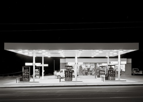 Mobil Station, Kingman, Arizona