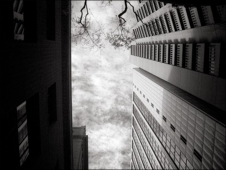 Downtown San Francisco - Infrared
