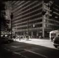 Street Corner at Lunch Hour, San Francisco