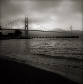 Foggy Sunset at Crissy Field