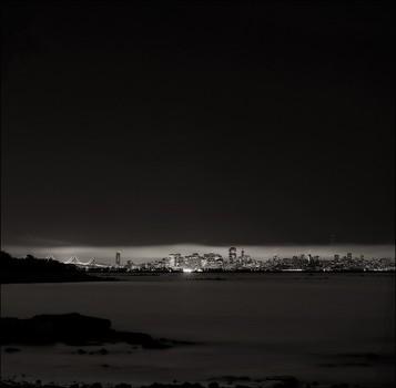 Skyline From Albany Shoreline, best at full size