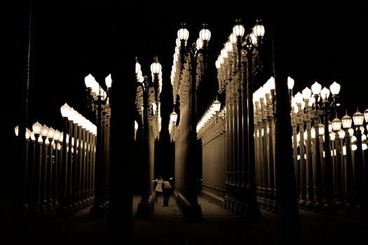 Lightposts Sculpture