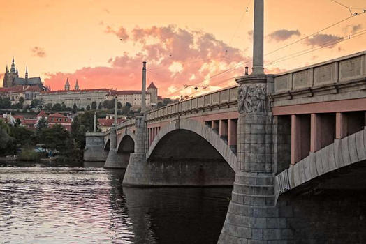 Across The Vitava River