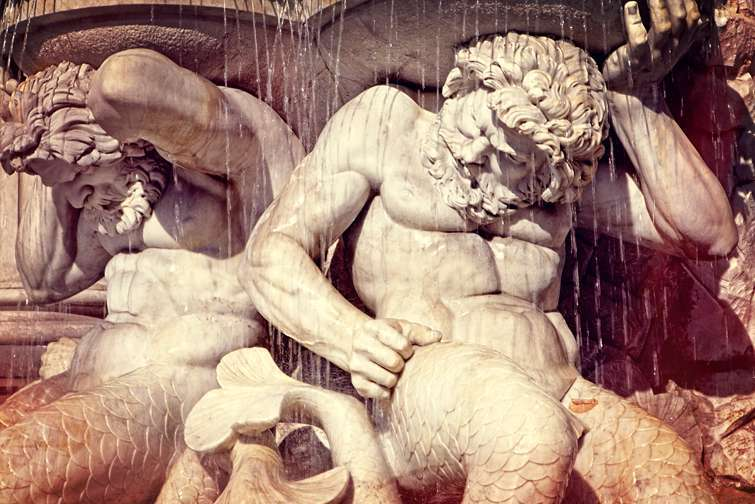 Lester Blum, Mermen Fountain